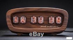 Retro Nixie Tube Clock Sur Les Tubes Soviet Made Vintage Main Meilleur Cadeau Avec Des Tubes