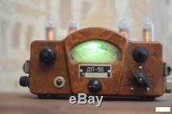 Retro Nixie Tube Clock Sur Les Tubes Soviet Unique Cadeau Avec Des Tubes Metro 2033 Fallout
