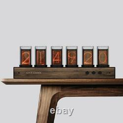 Rgb Glow Tube Clock Led Digital Nixie Clock Electronic Retro Clock 6 Bit 5v Usb