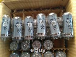 Set 6x In18 Correspondante In18 -18 Nixie Nos Tuyaux Nouveau Divergence Compteur Kilométrique Horloge