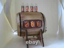 Thermomètre À Double Écran Combo Clock Hygrometer Nixie Clock With In12 In14 Tubes