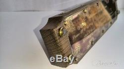 Tube Nixie Horloge Avec In-14 En Cas De Chêne Antique De Retronix