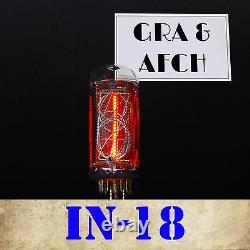 Tube Nixie In-18 Pour Nixie Clock Nouveau Gazotron Numérique Testé 1 Pc