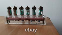 Tubes Cameleon Vfd Clock Iv11 Avec Wi-fi Sync Monjibox Nixie