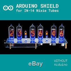 Tubes Nixie Horloge Arduino Shield Ncs314 In-14 Avec Gps À Distance Opt Tuyaux