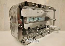 Tubes Rétro Vintage Horloge Nixie Horloge Tube Nixie Maison Faits À La Main Bureau Vfd Ice