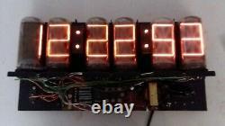 Vintage Digital Nixie Tube Clock B-7971 Burroughs Nixie Tubes Lectrascan Mm5314