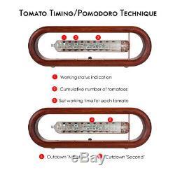 Vintage / Iv-18 Vfd Nixie Tube Alarme D'alarme Tomate Timing Wifi Télécommande