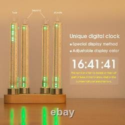 Vintage Rgb Tube Son Niveau Compteur Musique Spectrum Visualiseur Horloge Ref Nixie Era