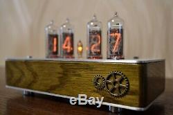 Vintage Tube Nixie Horloge In14 Retro Clock In14 Video Inside