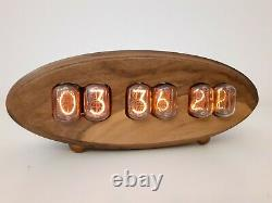 Walnut Series Par Monjibox Nixie Clock In12 Tubes