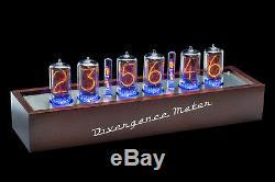Z5660 Tubes Nixie Clock Rgb Divergence Compteur (in-18) (livraison Rapide 2-3 Jours)