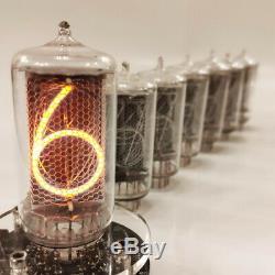 Z5660m 6 Pcs New Nixie Rft Tubes Pour L'horloge Z566 Allemagne Testé Travail Nos