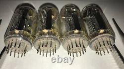 Z5660m Nixie Tubes 4pcs Pour Horloge. Nouveau. Test