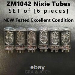 Zm1042 Tubes Nixie Pour Allumettes D'horloge Nixie Nouveau Jeu Testé 6 Pcs